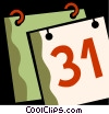 Calendars Vector Clipart picture