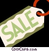 Vector Clip Art picture  of a Sales and Price Tags