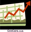 Charts Vector Clipart illustration