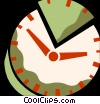 Vector Clipart picture  of a Concepts of time