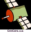 Satellite Vector Clipart graphic