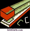 Vector Clipart graphic  of a Staplers