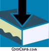 Vector Clip Art image  of a In-Boxes and Out-Boxes