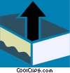In-Boxes and Out-Boxes Vector Clipart picture