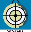 Vector Clipart picture  of a Targets and Objectives