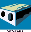Pencil Sharpeners Vector Clip Art graphic