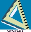 Vector Clip Art graphic  of a Rulers