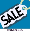Sales and Price Tags Vector Clip Art graphic