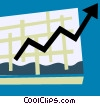Charts Vector Clip Art graphic