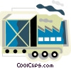 Conveyor Belts Vector Clipart illustration