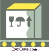 Crates, Boxes, Shipments Vector Clipart image