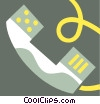 Handsets and Receivers Vector Clip Art picture