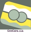 Vector Clipart graphic  of a Credit Cards