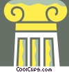 Column or Pedestal Vector Clip Art picture