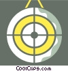 Targets and Objectives Vector Clipart illustration