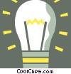 Idea Light bulbs Vector Clipart illustration