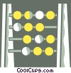 Abacus Vector Clip Art image