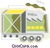 Vector Clip Art graphic  of a Conveyor Belts