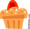 Muffins Vector Clipart graphic