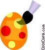 Easter Eggs Vector Clipart graphic