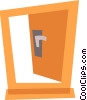 Doors Vector Clip Art picture