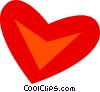 Vector Clipart graphic  of a Hearts