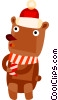 Vector Clipart picture  of a teddy bear