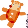 Vector Clip Art image  of a Teddy Bears