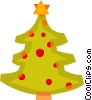 Vector Clip Art picture  of a Christmas Trees