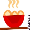 Vector Clip Art picture  of a Desserts