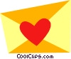 Valentine Cards Vector Clip Art graphic