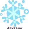 Vector Clip Art picture  of a Snowflakes