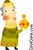 wise man Vector Clip Art picture