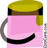Paint Cans Vector Clipart picture