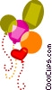 Vector Clipart image  of a Balloons