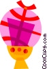 Vector Clip Art image  of a Easter Eggs