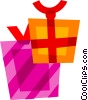 Gifts and Presents Vector Clipart illustration