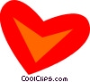 Hearts Vector Clipart illustration