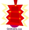 Vector Clipart picture  of a Ornaments Decorations