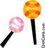 Maracas Vector Clipart illustration