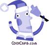Santa Vector Clipart image
