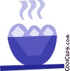 Vector Clip Art image  of a Desserts