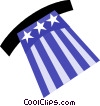 Vector Clip Art image  of a Independence Day