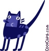 Black Cats Vector Clip Art picture