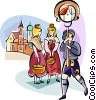 Bavarian Holiday Vector Clip Art graphic