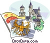 Vector Clip Art picture  of a German historical heraldic