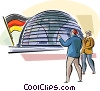 Berlin Reichstag Vector Clip Art graphic