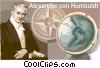 Vector Clipart illustration  of an Alexander von Humboldt