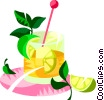Caipirinha, Brazilian carnival drink Vector Clipart image
