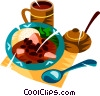 Vector Clipart graphic  of a Brazilian national dish